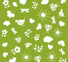 Spring pattern by Stock Image Folio