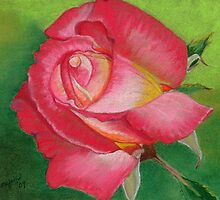 First Bloom by Leslie Gustafson