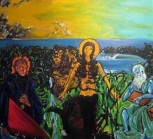 The Betrayal of Man - Surf Art by nathangibbs