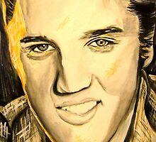 """Elvis """"jake"""" Presley by johnnysandler"""