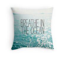 Tumblr inspired - Ocean print Throw Pillow