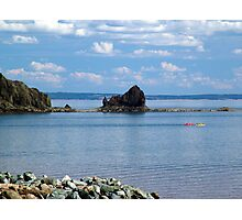 Kayaks at Five Islands Photographic Print