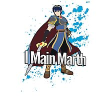 I Main Marth - Super Smash Bros. Photographic Print