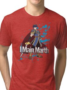 I Main Marth - Super Smash Bros. Tri-blend T-Shirt