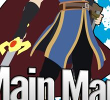 I Main Marth - Super Smash Bros. Sticker