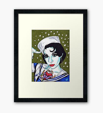 Miss Jennifer Framed Print