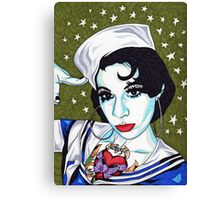 Miss Jennifer Canvas Print