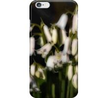 Softly they ring iPhone Case/Skin