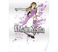 I Main Zelda - Super Smash Bros. Poster