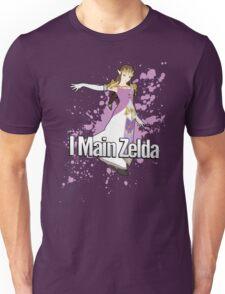 I Main Zelda - Super Smash Bros. Unisex T-Shirt