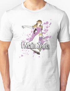 I Main Zelda - Super Smash Bros. Unisex T-Shirt