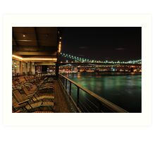 South Street Seaport Art Print