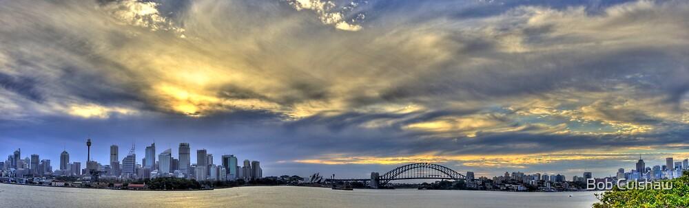 Sydney Panorama, from Bradleys Head by Bob Culshaw