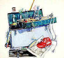 Fishing Tackle by Emma Jean Chu