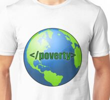 End Poverty Unisex T-Shirt