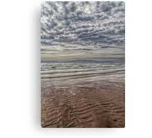 Wave Cloud and Wave Sand. Canvas Print