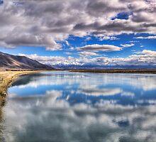 Ohau C Canal Reflection by Tony Burton