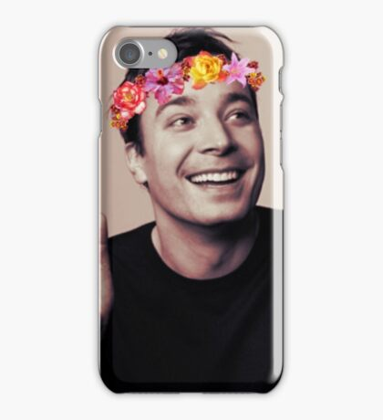 Jimmy Fallon- flower crown iPhone Case/Skin