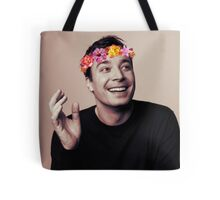 Jimmy Fallon- flower crown Tote Bag