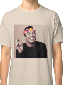 Jimmy Fallon- flower crown Classic T-Shirt