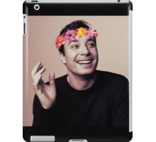 Jimmy Fallon- flower crown iPad Case/Skin