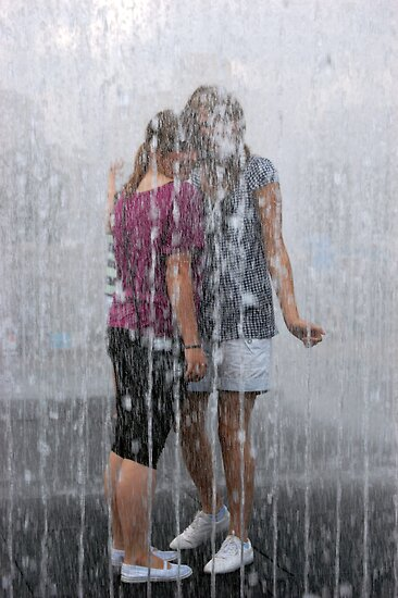 Fountain Togetherness by Peter Lusby Taylor