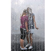 Fountain Togetherness Photographic Print