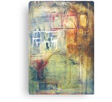 remnants of the same Canvas Print