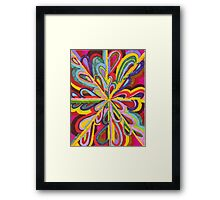 ribbons of love  Framed Print