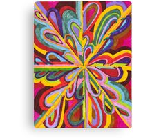 ribbons of love  Canvas Print