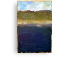 Abstract Dunes Canvas Print