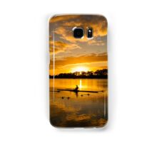 Sunrise rowing Samsung Galaxy Case/Skin