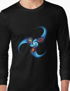 light flame in blue Long Sleeve T-Shirt