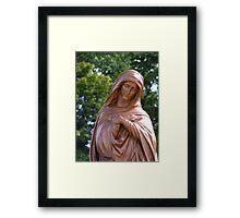 Blessed Mary Framed Print