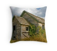 Abandoned Dreams - Chimney Down Throw Pillow