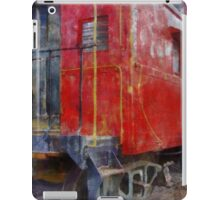 Old Red Caboose iPad Case/Skin