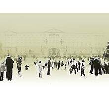 It's Grey in London Photographic Print