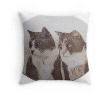 Lepton and Quark Throw Pillow