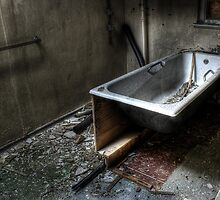 Bare bath by Richard Shepherd