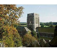 Mount Saint Bernard Abbey Photographic Print