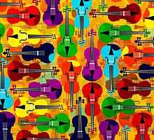 VIOLINS ALL OVER by FieryFinn77