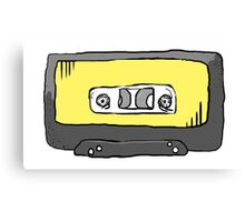 Yellow Tape Canvas Print