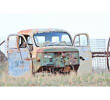 Rusty Truck Photographic Print
