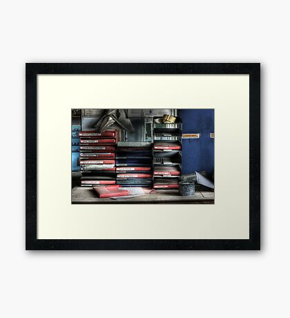 Workmen Framed Print