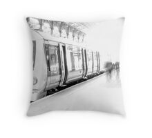 Calm before the rush hour storm Throw Pillow