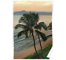 Sunrise, Lahaina, Maui, Hawaii Poster