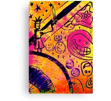 The Knight and the Sword Canvas Print