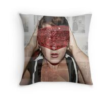 Blindsided... Throw Pillow