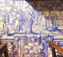 painel de azulejos. St. Joseph Church. portuguese tiles by terezadelpilar~ art & architecture