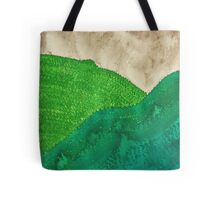 Highland Storm original painting Tote Bag